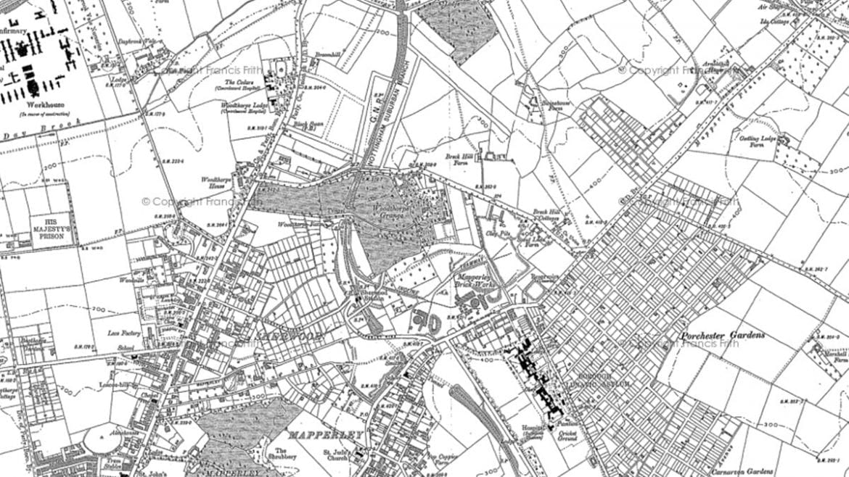 mapperley map