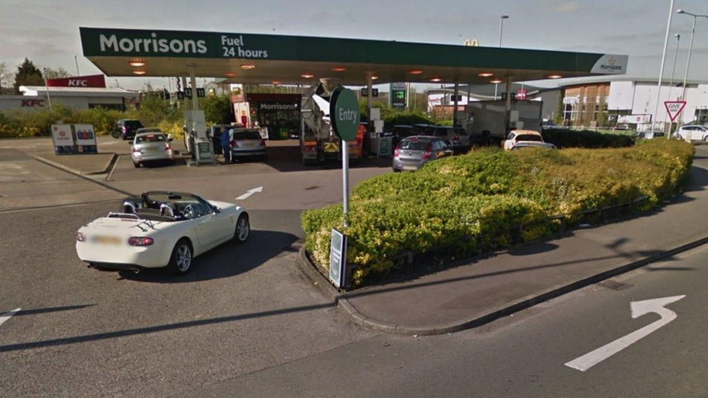 Morrisons petrol Netherfield