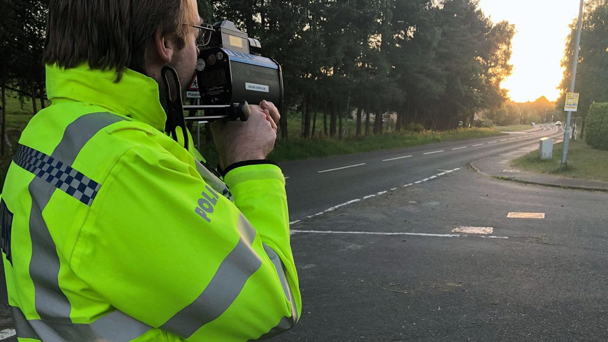 Speeding motorists snared by police in Ravenshead