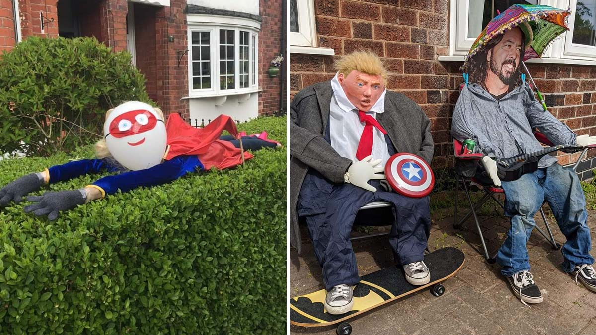 Community response to first scarecrow festival in Mapperley is 'phenomenal'