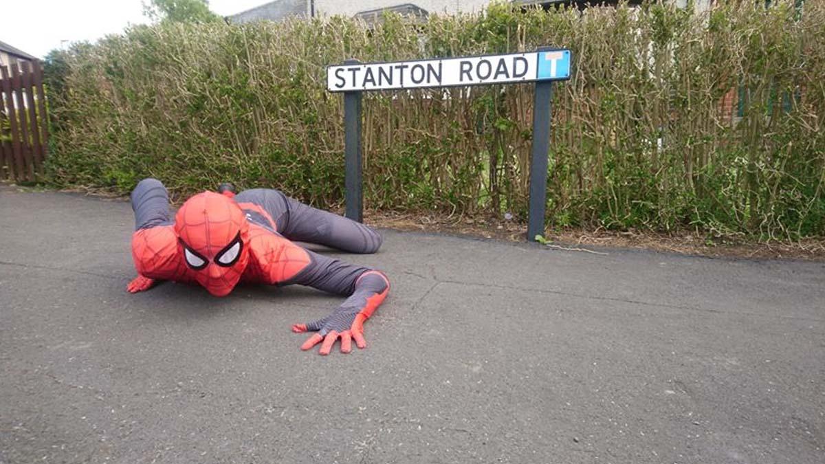 Spider-Man in Gedling