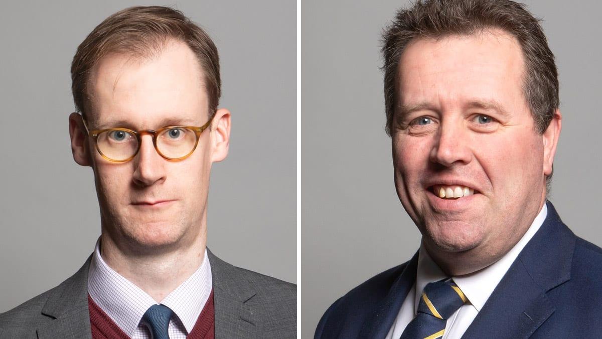 Tom Randall and Mark Spencer