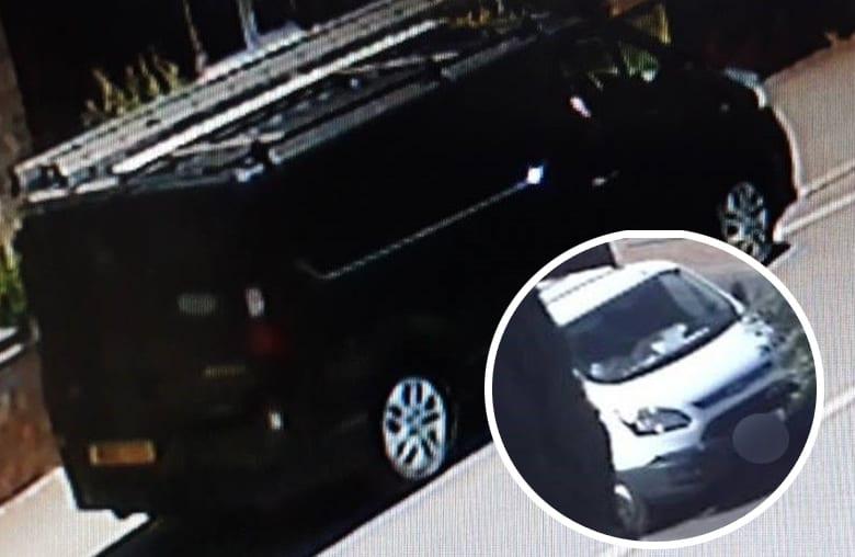Vans in distraction burglaries
