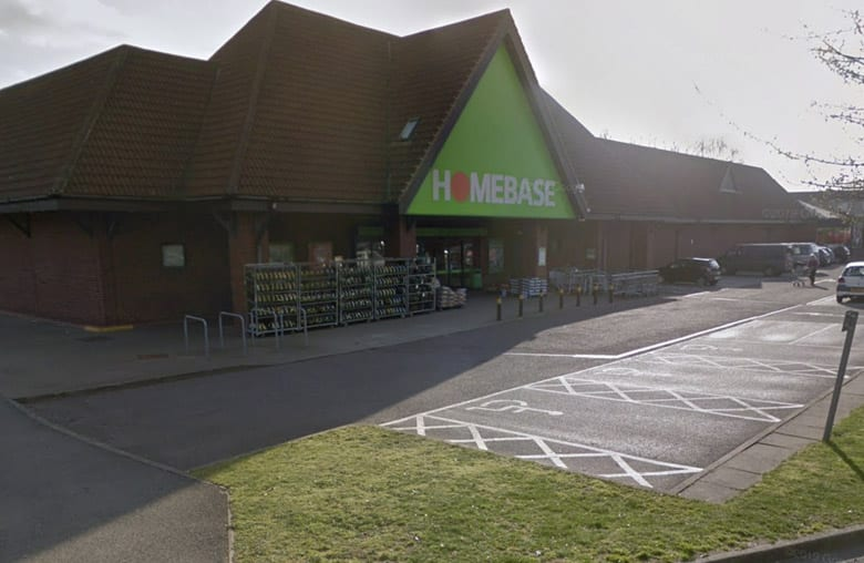 Two arrested after £16,000 worth of goods are stolen from Homebase store in Daybrook