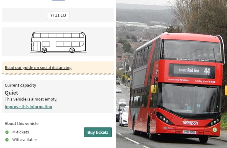'I'll wait for the next one': Online Capacity Checker allows Gedling passengers to see how full their bus will be before boarding