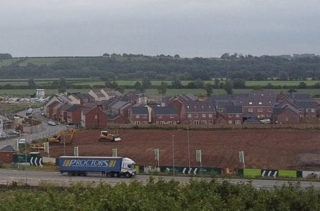 PICTURED: Teal Close development (PHOTO: Gedling Eye)