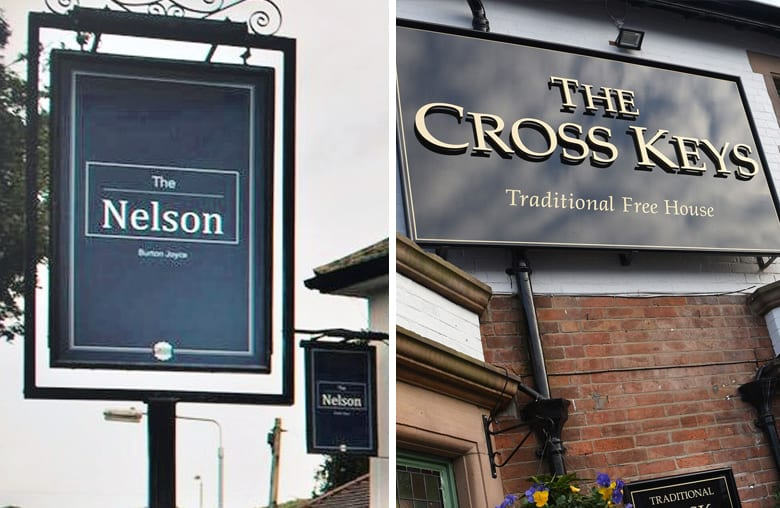 Lord Nelson and Cross Keys