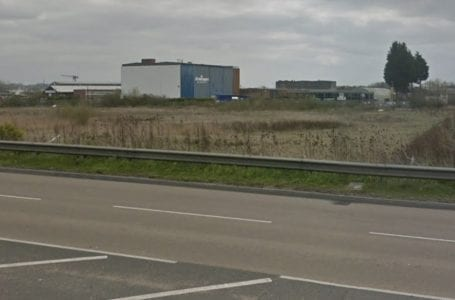PICTURED: Land where the new Sainsbury's will be created