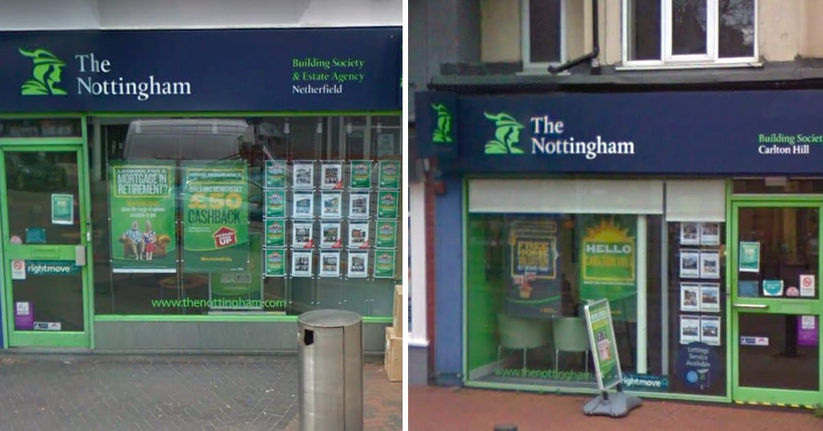The Nottingham branches