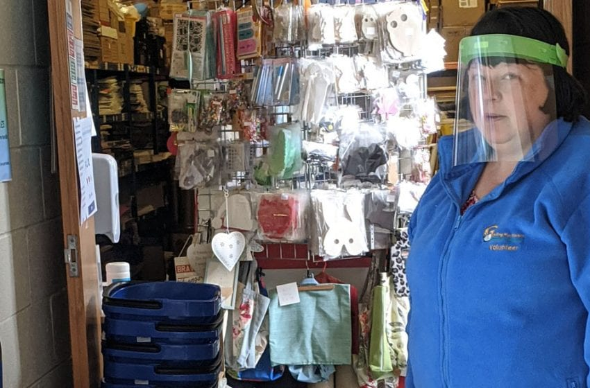 'We'll be much safer': Volunteers at Gedling Play Forum delighted by safety visor donation