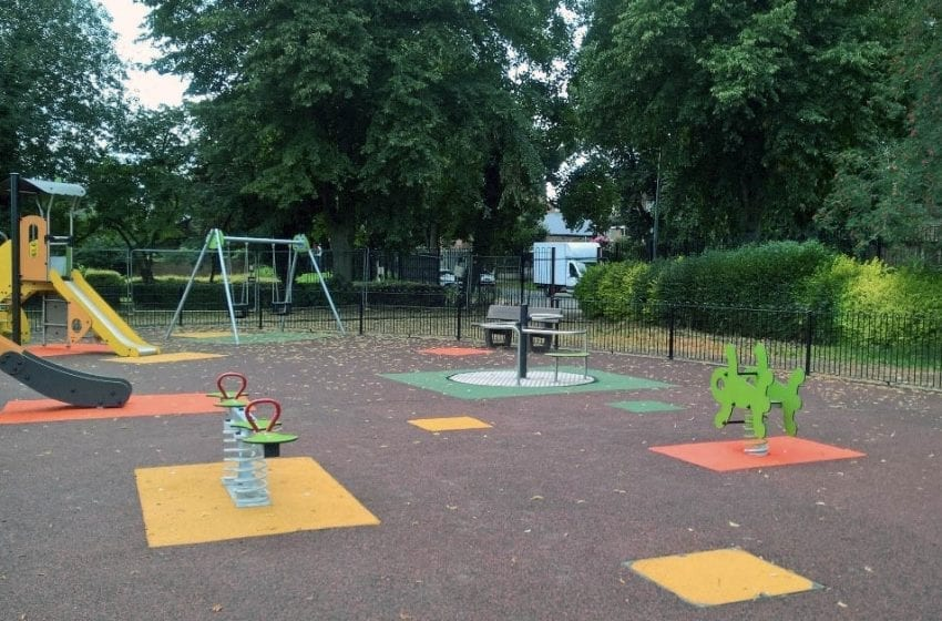 New £95k children's play area in Carlton opens tomorrow