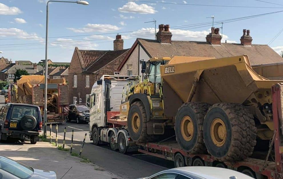 GAR truck on Shearing Hill
