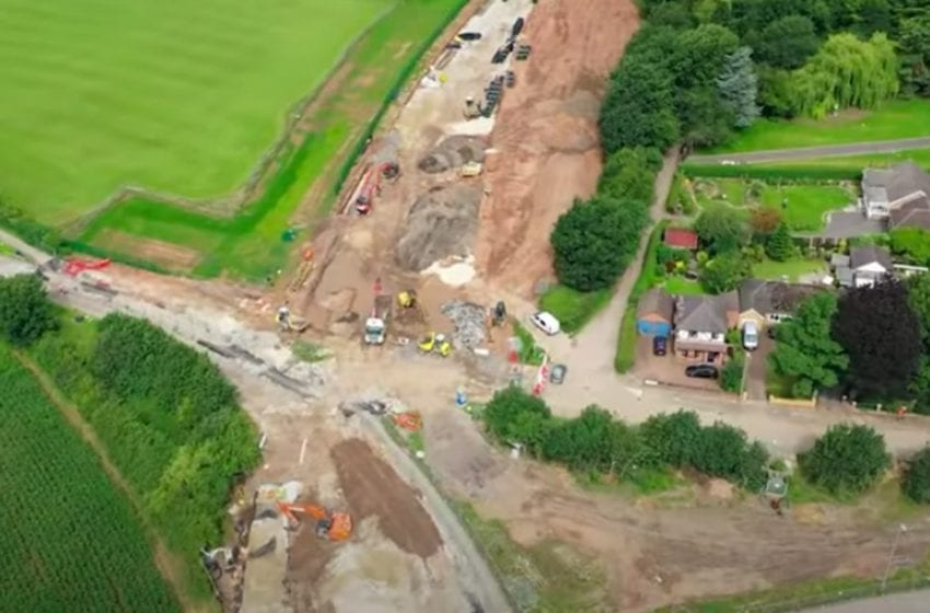 VIDEO: See latest progress made on Gedling Access Road works in new flyover video