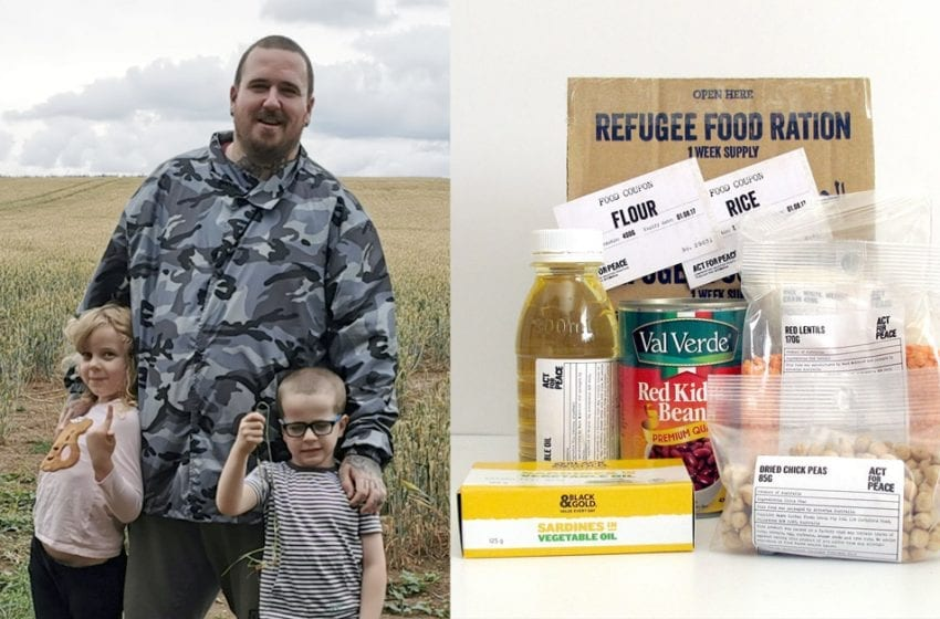 Woodthorpe man to support Syrian refugees by living on their rations for a week