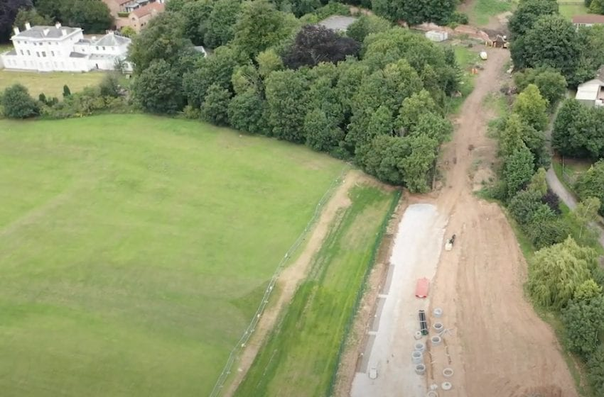 VIDEO: Latest drone flyover footage shows how £40m Gedling Access Road is progressing