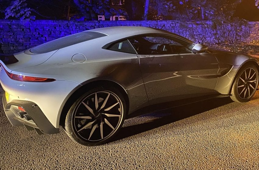 £150,000 Aston Martin could be sent to the crusher after Gedling police team seize supercar near Ravenshead