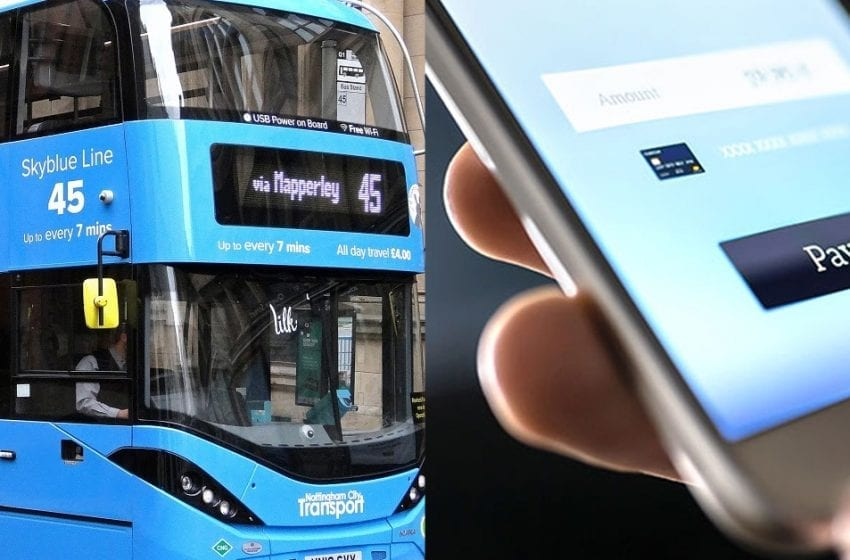 NCT borough bus services will now accept contactless pay-as-you-go payments following successful trial