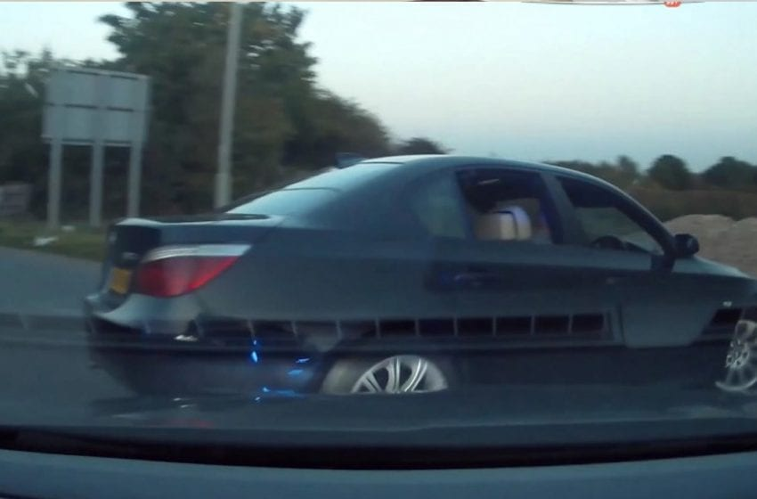 Dramatic video shows moment high-speed police chase comes to an end on Colwick Loop Road
