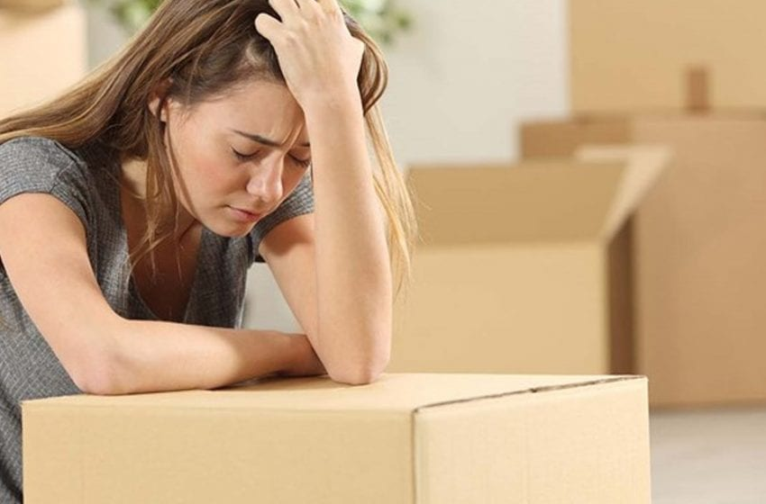 ELAINE BOND: Why does moving house become so stressful?
