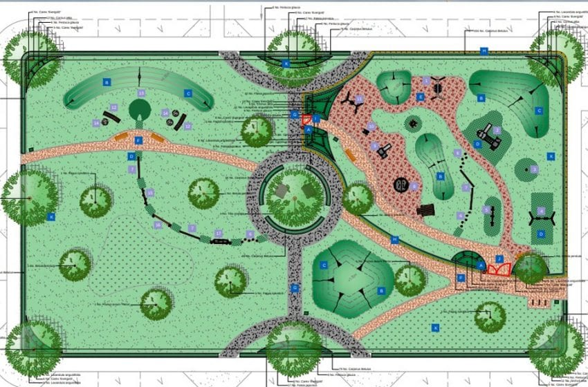 New public square and playground proposed for huge Chase Farm estate in Gedling