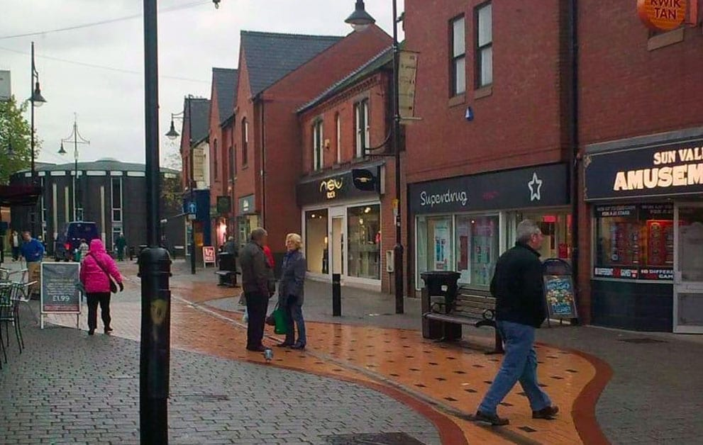 Arnold town centre