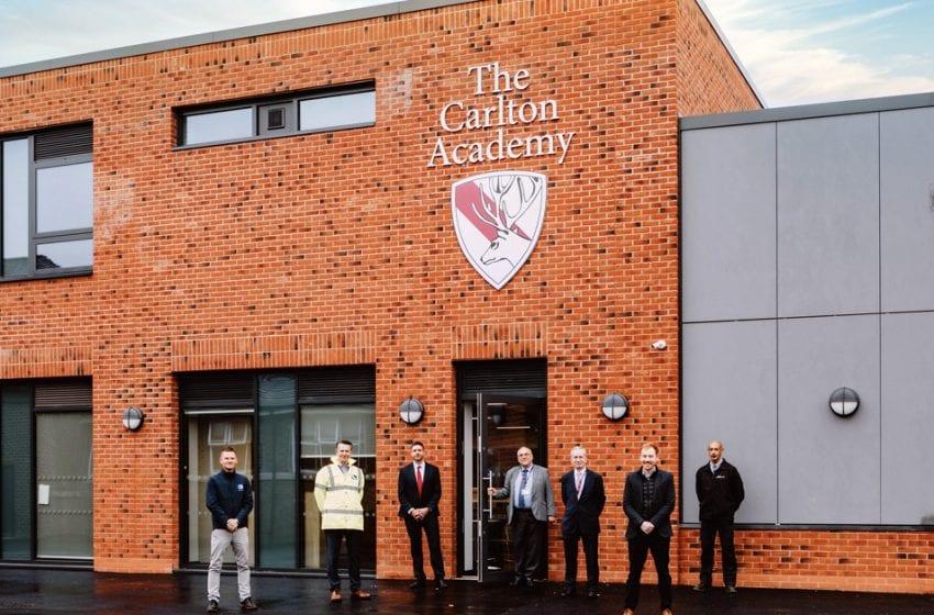 New £2.7m teaching block opens at Carlton Academy