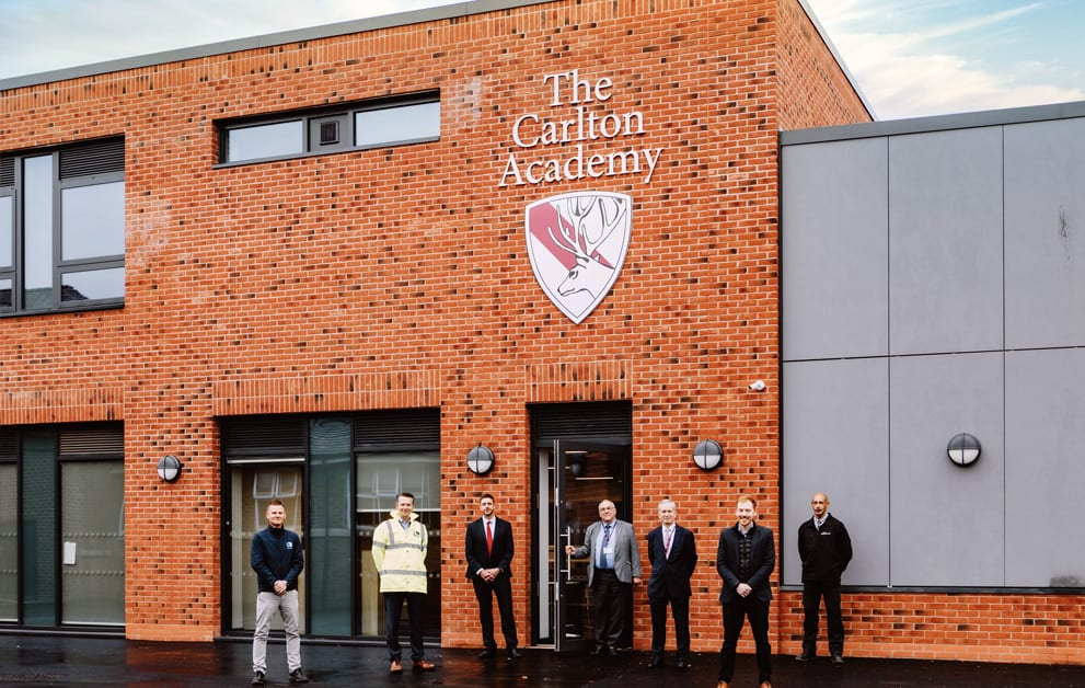 Carlton Academy extension