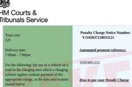 People in Gedling borough warned over fake 'penalty charge' emails