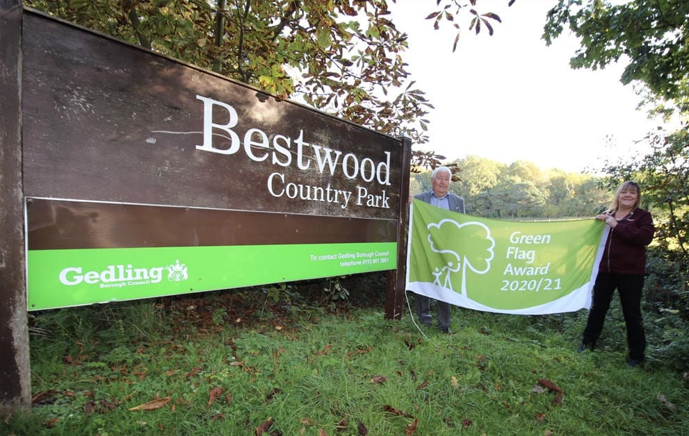 Green Flag Bestwood Country Park
