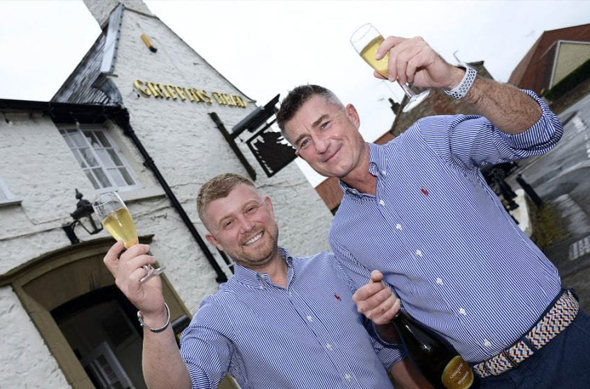 Couple raise glass to new career after taking over their local pub in Papplewick
