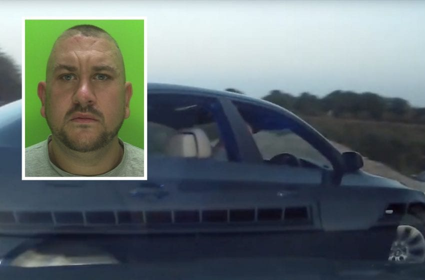 Man jailed after leading police on high-speed chase through borough that came to an end on Colwick Loop Road