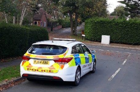 PICTURED: Police have steeped up patrols in Ravenshead
