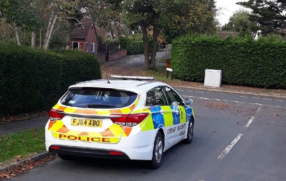 Police in Ravenshead