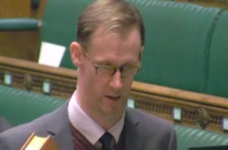 PICTURED: Gedling MP Tom Randall