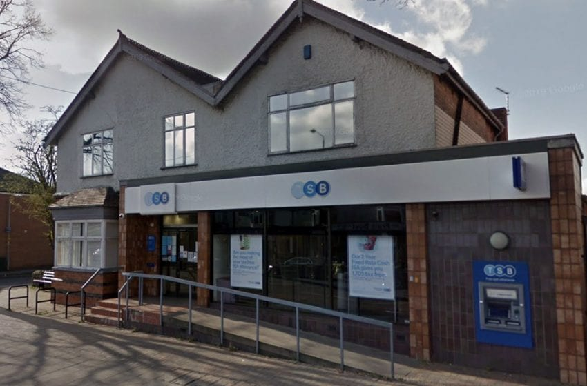 Axe falls on TSB branch in Mapperley