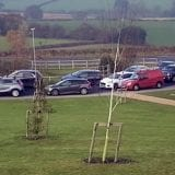 Parking chaos Gedling Country Park