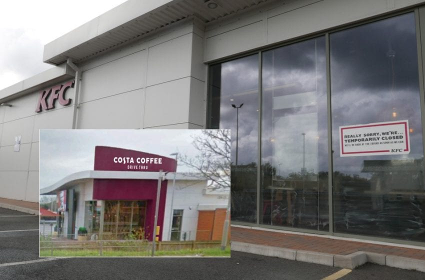 Drive-thru Costa Coffee planned for former KFC site on Victoria Retail Park in Netherfield