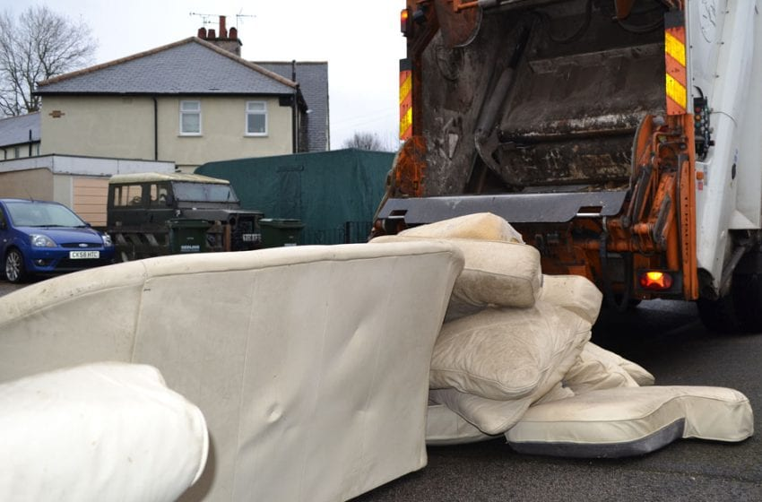 Free bulky waste collections are being offered by council to residents in Gedling borough