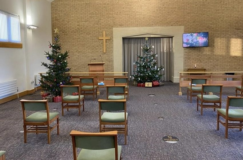 Online Christmas service to be held at Gedling Crematorium next month