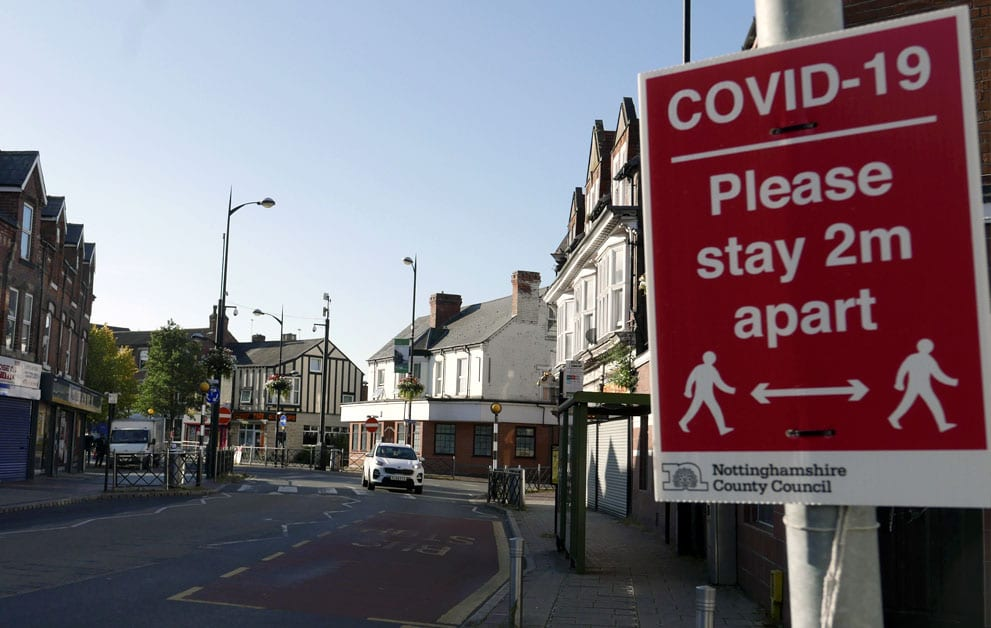 Netherfield high street covid restrictions