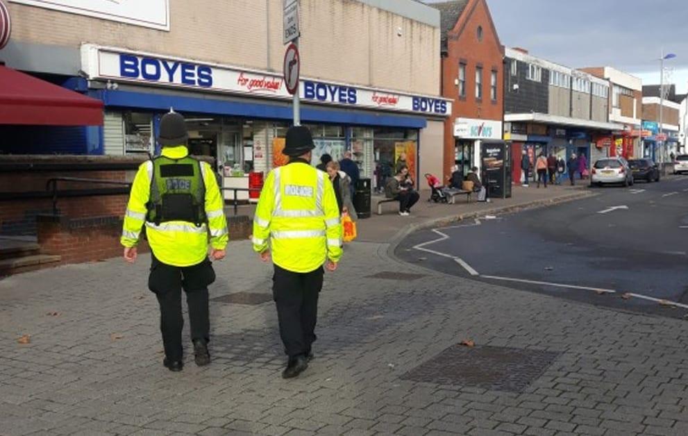 Police patrols in Arnold