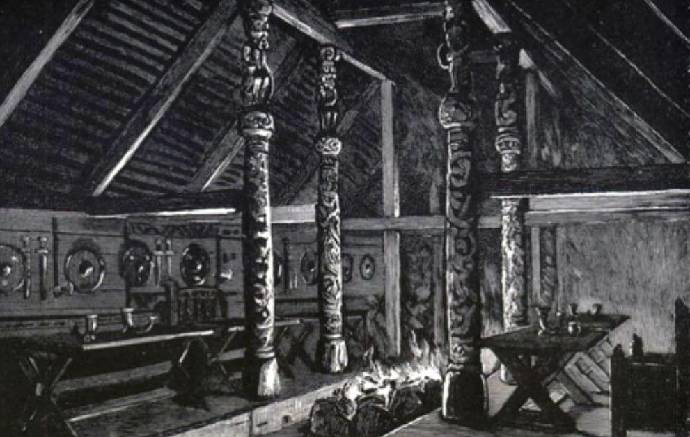 Anglo Saxon Mead Hall