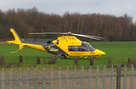 Updates: Emergency services called to 'incident' near to Victoria Retail Park in Netherfield as air ambulance lands nearby