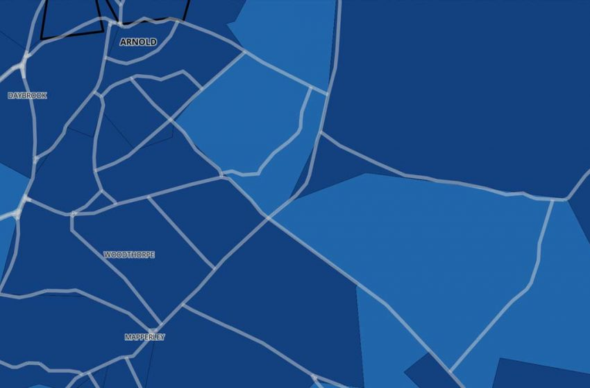 Mapped: Covid cases and infection rates by Gedling borough neighbourhood