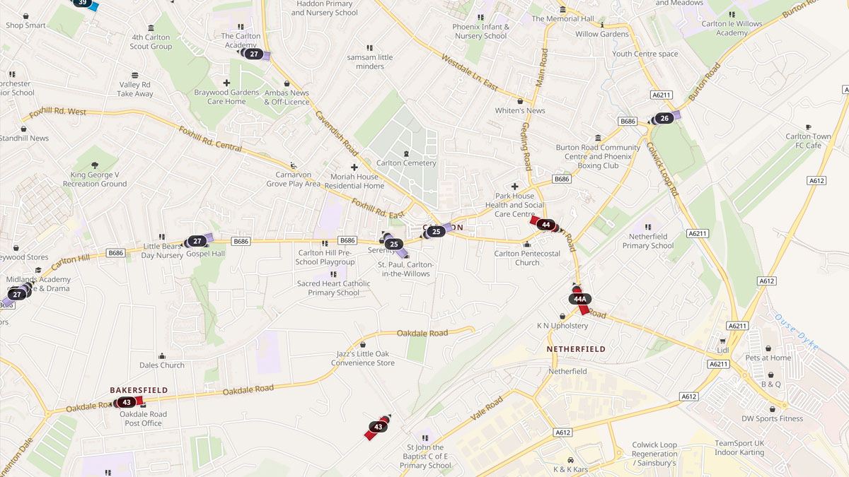 Fleet map