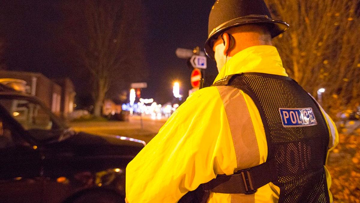 Police drink drive crackdown