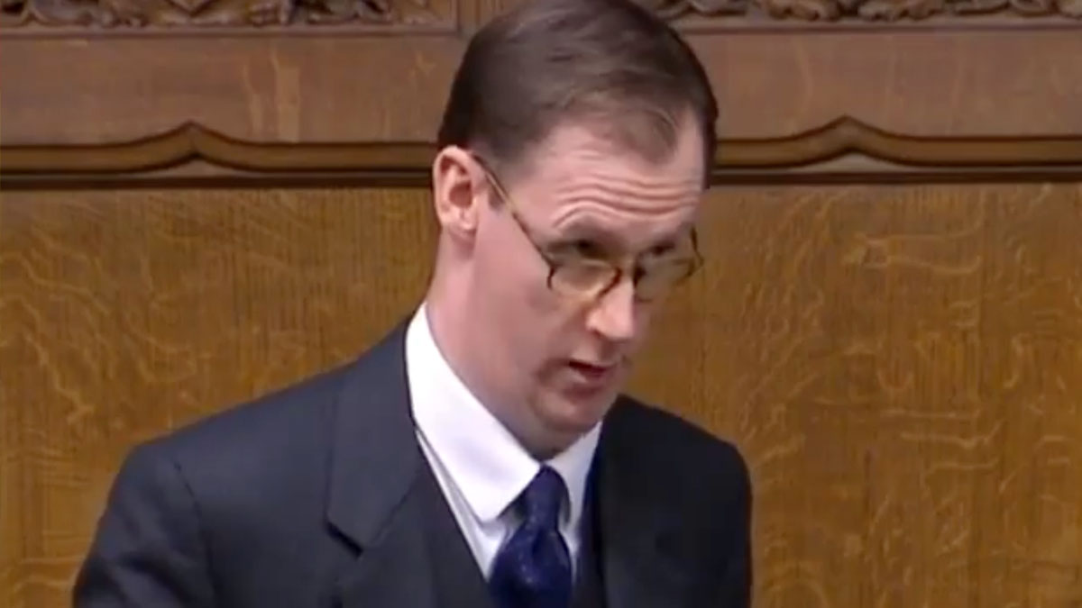 Tom Randall in House of Commons