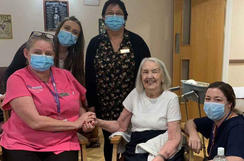 'Light at the end of the tunnel':Relief as Covid-19 vaccinations are rolled out at Arnold care home