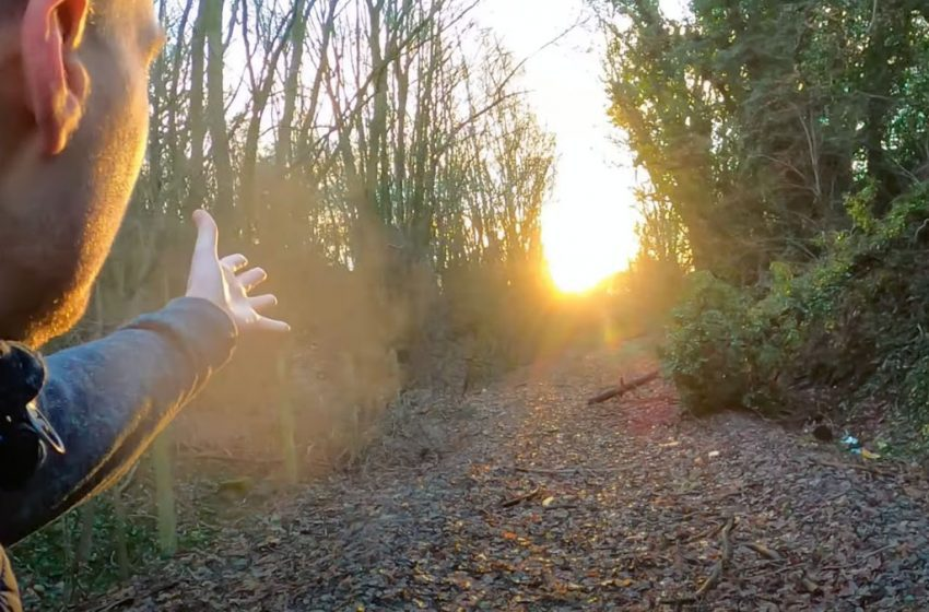 Rare glimpse of abandoned colliery railway line in Gedling captured on video