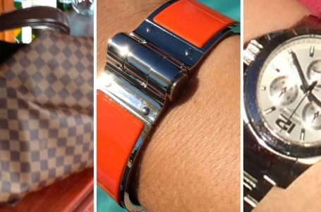Shoulder bag, watch and bracelet among items stolen in Mapperley burglary